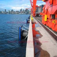 Quay protection UHMW-PE panel