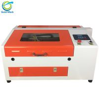 laser engraver 4030 laser cutter 50w laser engraving cutting machine for wood acrylic rubber stamp