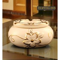 European style luxurious ceramic ashtray Creative gift ID:#YHG-005