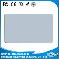 HOT 13.56Mhz PVC Printable ICODE or M1 HF ISO15693 ISO14443 RFID Smart Card