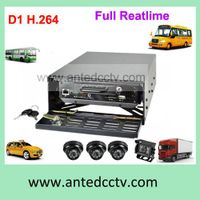 4 Channel H. 264 HDD MDVR with GPS Function Car Black Box Video Recorder for Taxi, Buses, Trucks