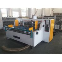 SOOME Automatic paper feeding type thin blade slitter scorer for corrugated cardboard slitting creas