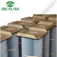 Mining Smelting Dust Filter Cartridge Square Flange