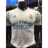 2017-2018 Real Madrid Home team Player Jersey(slim fit)