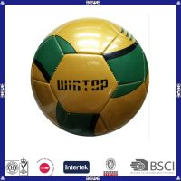 Wholesale custom official size and weight promotional pu soccer ball