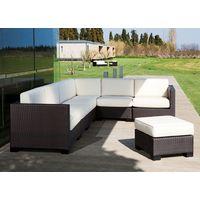 Outdoor Sofa Set Rattan, With Cushions Garden Furniture Outdoor.