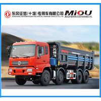 Dongfeng 8x4 cheap dump trucks In Use