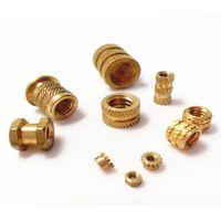 insertion knurled round nuts thru threaded inserts brass insert nut thumbnail image