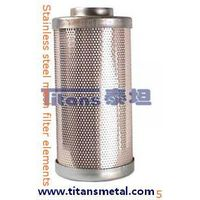 stainless steel mesh filter elements