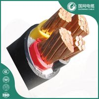 600/1000V Copper/Aluminum Conductor XLPE Copper Power Cable