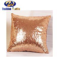 Factory Supply Custom Handmade Sequin Cushion Cover thumbnail image