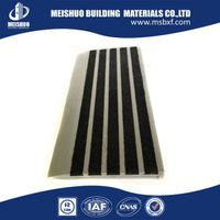 Anti-slip Solid carborundum stair nosing inserts