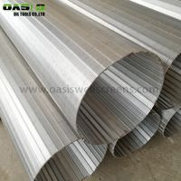 High Quality Stainless Steel 304 V Shape Wedge Wire Screen/Water Well Screen