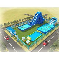 popular profitable inflatable water park equipment