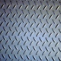 Tear drop stainless steel checkered plate
