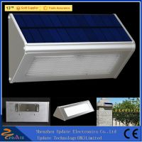 Aluminum Alloy 48LED 800lm Solar Powered Radar Sensor Lights