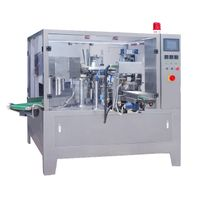 Automatic rotary premade pouch packing machine