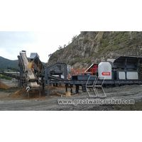 Mobile Crushing Plant for sale in 80 t/h pebble sand crushing plant