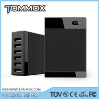 6 port USB Charger Rapid Charge For Cellphone for iPad And More - Powerful Smart USB Charger thumbnail image