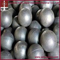 Low wear-rate grinding ball for mining