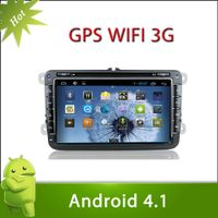 """8"""" 2 din VW TRANSPORTER android 4.1 car DVD with Radio,GPS,Ipod,Bluetooth,SWC,Wifi,PIP,3D UI thumbnail image"""