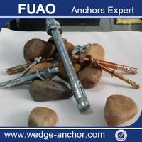 carbon steel wedge anchor / thru bolt