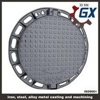 BS EN124 Ductile Iron Cast Iron Manhole Covers Dimensions