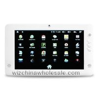 China Hot sale White RK2818 7 inches Google Android 2.1 E-book Camera Gravity Sensor MID PC 2GB DDR2 thumbnail image