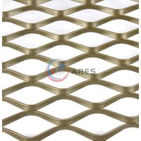 Flattened stainless steel carbon steel expanded metal 1/2 #13 flat expanded metal