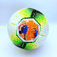 Soccer ball training ball with size 5 high quality PU leather