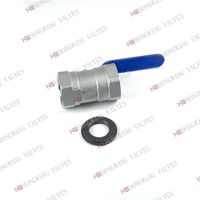 Stainless Steel Industrial Manual 1PC Female Thread Ball Valve thumbnail image