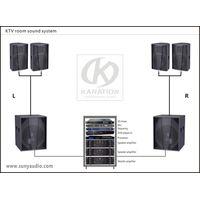 KTV room sound system