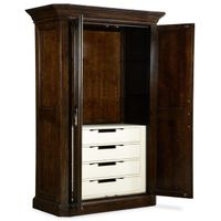 American pastoral style solid wood wardrobe amboyer armoire thumbnail image