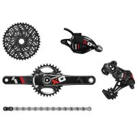 SRAM X01 BB30 RED Group Set - Trigger Shifter with 32t Chainring - XO1 - 1X11