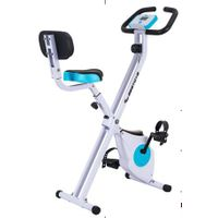Folding X magnetic exercise bike for household use with en957
