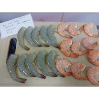 shrimp clean - peeled and deveined