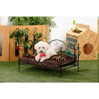 Luxury Fishin Metal frame Pet Dog Bed Dog House Pet products Hot Sale New product