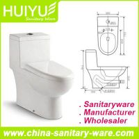 Self-Cleaning Siphonic One-Piece Sanitary Ware