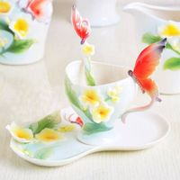 art gift coffee cup set(HX-064)