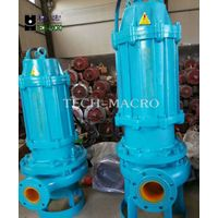 Non-clog waste water centrifugal sewage submersible drainage pump with auto coupling