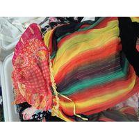 Used clothing/ used ladies silk dress