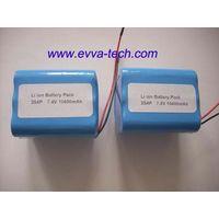 18650 Battery Pack 2S4P 7.4V 10400mAh thumbnail image