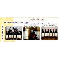 ST MICHEL DE TOURS CALIFORNIA RED WINE