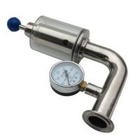 VAR Air Release Valve with Pressure Gauge