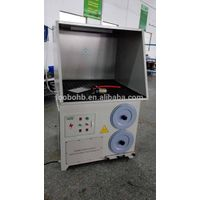 Grinding sanding polishing downdraft dust cllection table