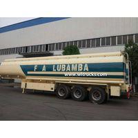 52000Liters fuel oil tank trailer for transport diesel or oil gasoline