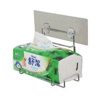 Reusable Adhesive Stainless Bathroom Toilet And Tissue Paper Holder - Taiwan thumbnail image
