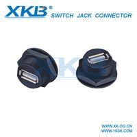 USB2.0 waterproof aviation plug connector wire waterproof USB Block