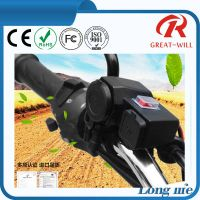 Dual Port usb charger for motorcycle