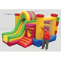 attractive inflatable bounce house combo